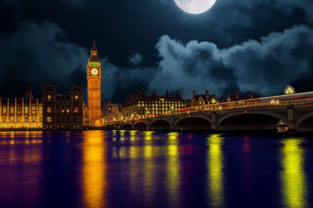 london, skyline, england