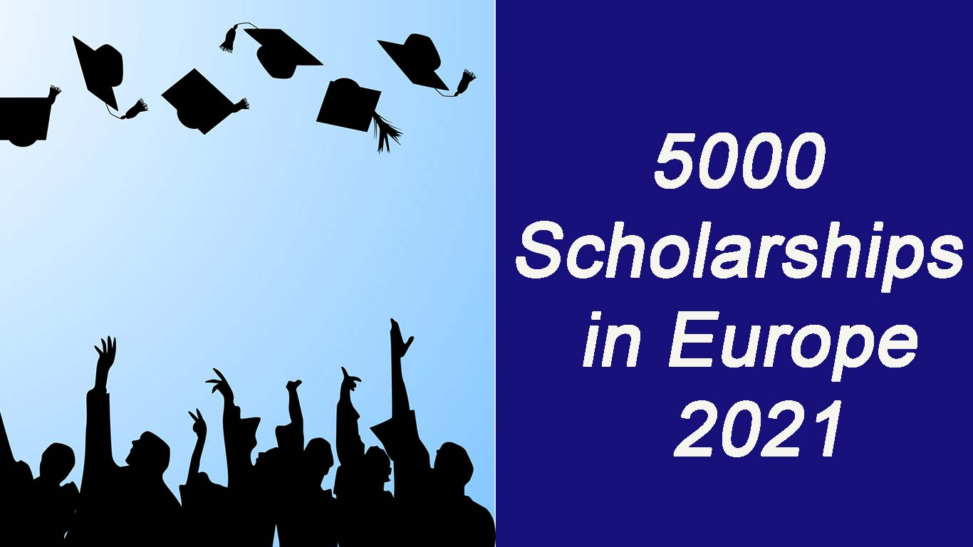 5000 Scholarships in Europe 2021