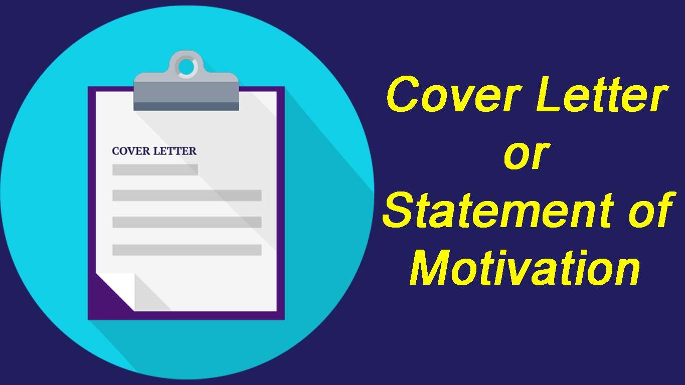 CV/Motivation Letter