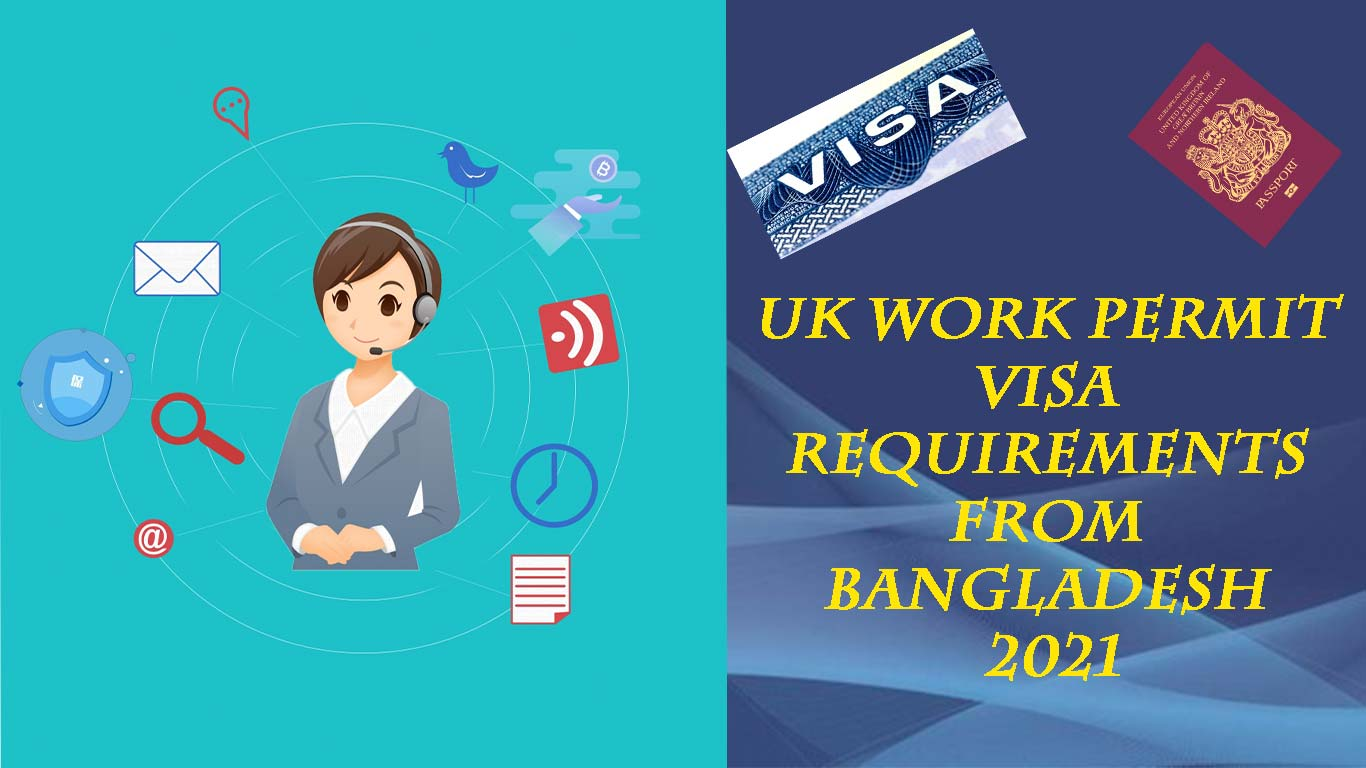 UK work permit visa requirements from Bangladesh 2021