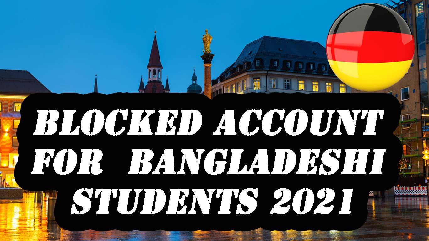 Blocked Account for Bangladeshi Students