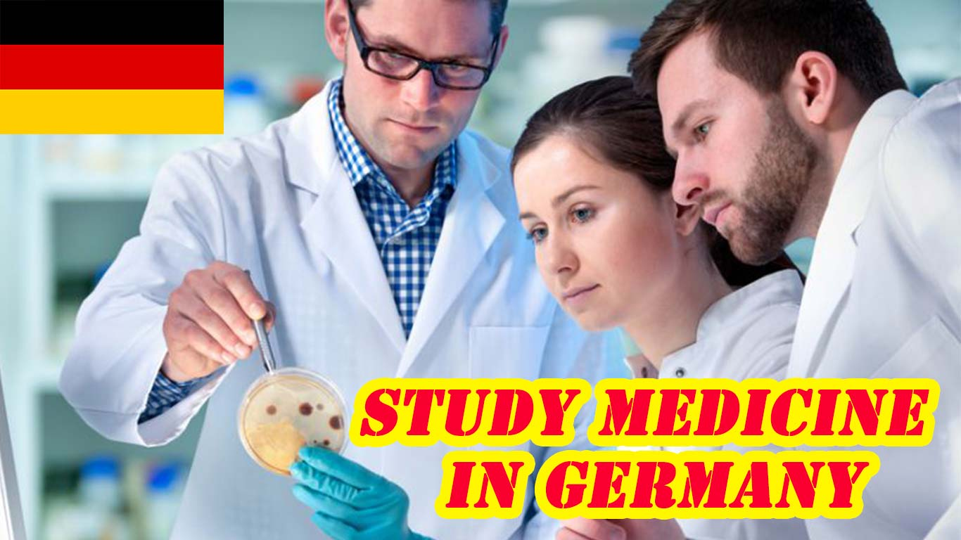 study medicine in germany in english for international students